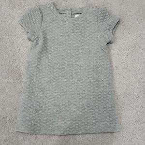 Cotton grey dress size 2t